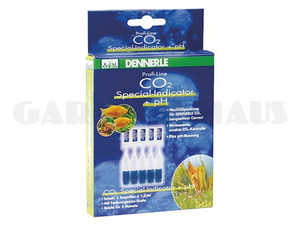 CO2 Special Indikator-Flüssigkeit + pH