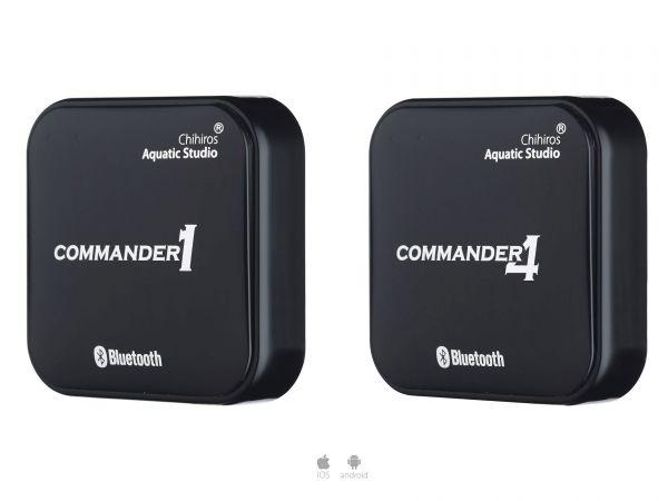 Chihiros Commander 1 und Commander 4 Bluetooth Controller für LED-Lampen
