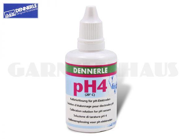pH-Eichlösung/Kalibrierlösung 4, 50 ml