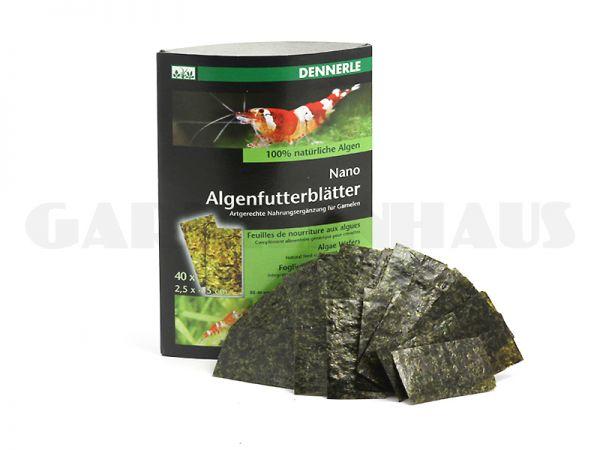 Nano Algenfutterblätter, 40 Stk.