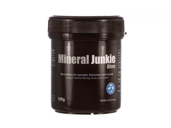 GlasGarten - Mineral Junkie Bites - 100g-Dose - Ergänzungsfutter für Garnelen im Aquarium