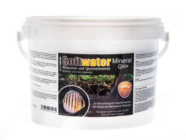 Softwater Mineral GH+, 3000g