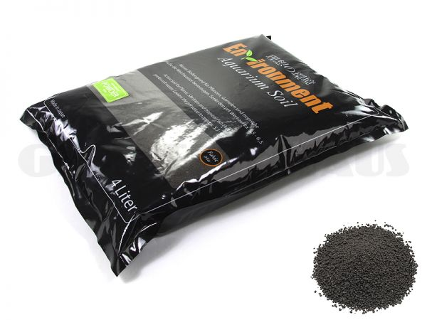 Environment Aquarium Soil Powder, 4 Liter