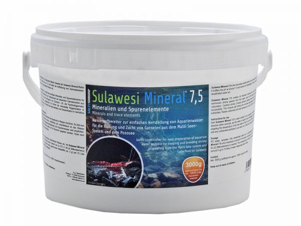 Sulawesi Mineral 7,5 - 3000g