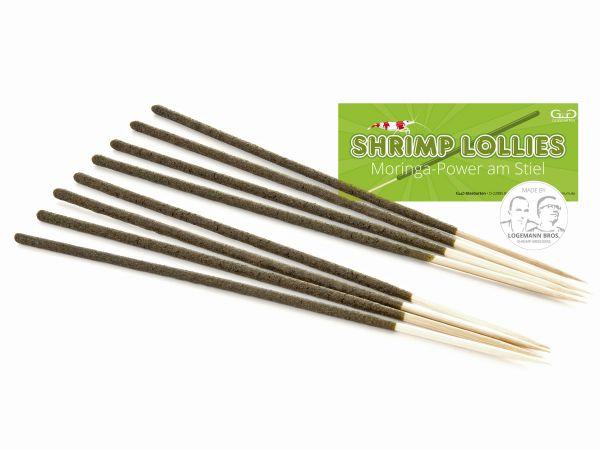 Shrimp Lollies - Moringa Power - Garnelen-Futterlolly / Futtersticks