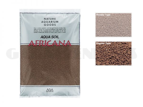 Aqua Soil - Africana, 3 l