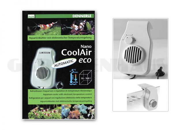 Nano CoolAir eco, automatik, 7 Watt