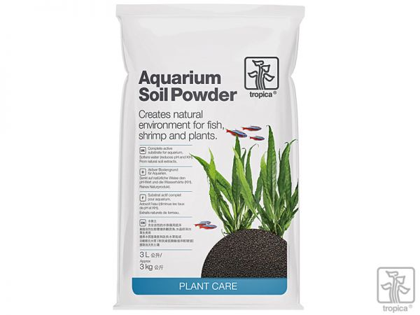 Aquarium Soil Powder, 3 Liter
