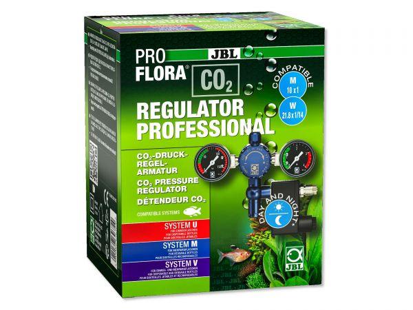 JBL ProFlora CO2 Regulator Professional - Druckminderer mit Nachtabschaltung