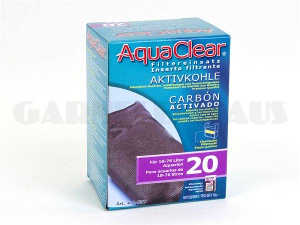 AquaClear - PF 20 Aktivkohlepatrone