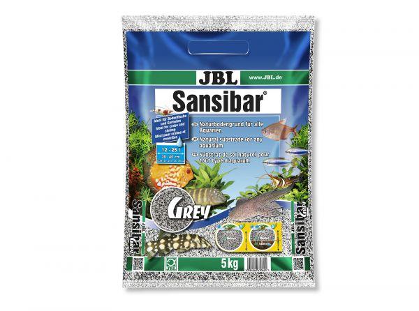 JBL - Sansibar GREY Bodengrund für Aquarien, 5 kg