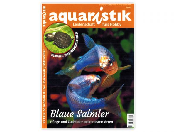 aquaristik - Leidenschaft fürs Hobby, Ausgabe 5/2021