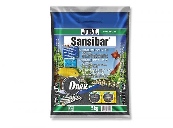 JBL - Sansibar DARK Bodengrund für Aquarien, 5 kg