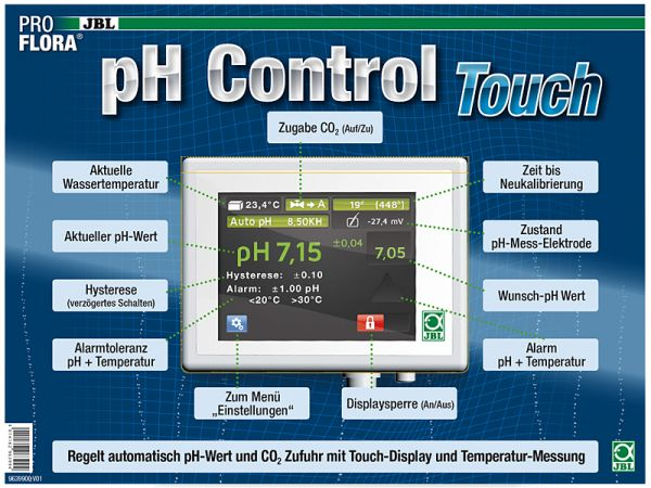 ProFlora pH Control Touch, CO2-Computer