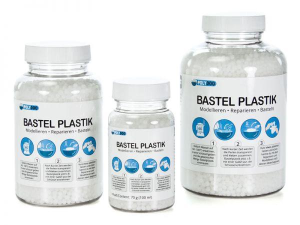 Polydoo - Bastelplastik - Modellieren, Reparieren, Basteln - Polymorpher Kunststoff