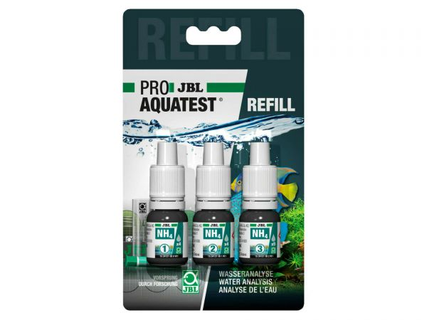 JBL - Pro Aquatest NH4 (Ammonium/Ammoniak) Reagenz, Refill-Pack (Nachfüllung)
