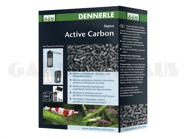 Nano Active Carbon, 300 ml
