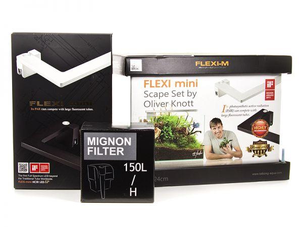 FLEXI mini Scape Set, schwarz