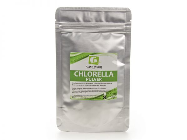 Chlorella Pulver, 50g