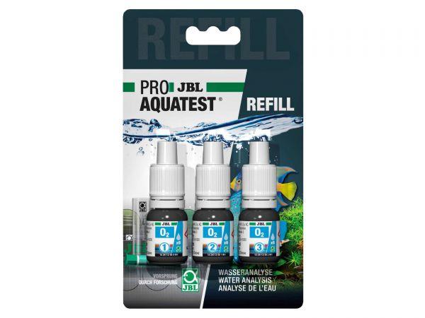 JBL - Pro Aquatest O2 (Sauerstoff) Reagenz, Refill-Pack (Nachfüllung)