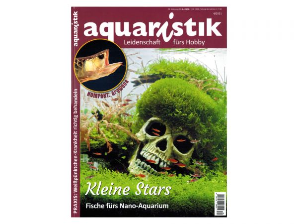 aquaristik - Leidenschaft fürs Hobby, Ausgabe 4/2021