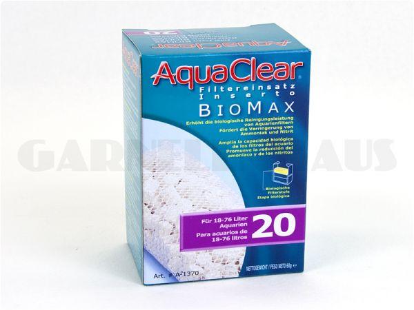 AquaClear - PF 20 Biomax-Filtereinsatz