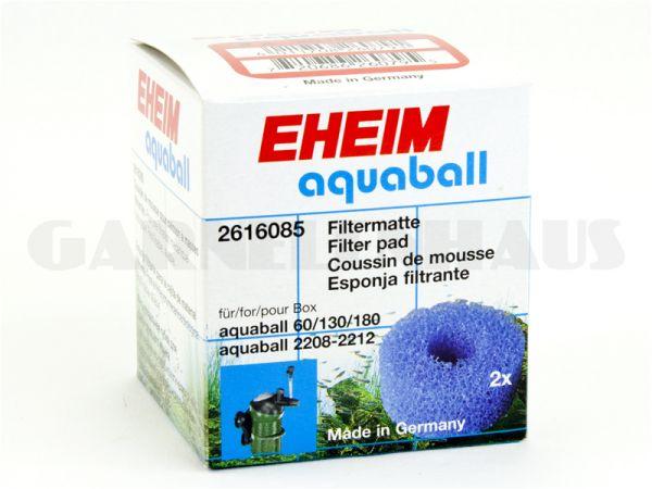 Filtermatte (blau), 2x f. aquaball 2208-2212