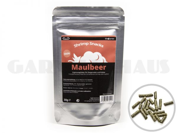 Shrimp Snacks Maulbeer, 30g