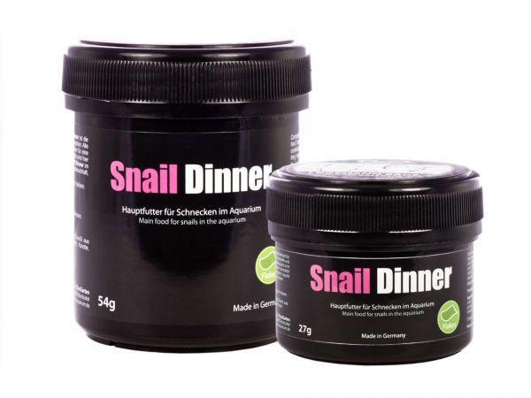 GlasGarten - Snail Dinner Schneckenfutter, Hauptfutter für Schnecken im Aquarium