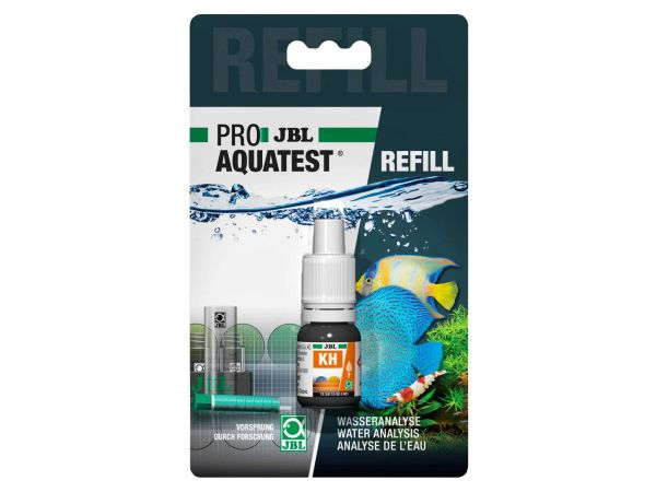 JBL - Pro Aquatest KH (Karbonathärte) Reagenz, Refill-Pack (Nachfüllung)