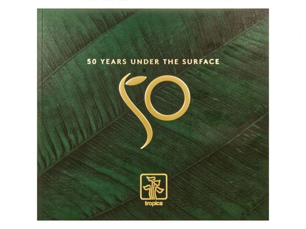 Tropica - 50 Years under the Surface Booklet Cover