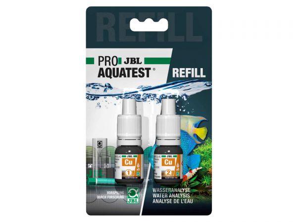 JBL - Pro Aquatest Cu (Kupfer) Reagenz, Refill-Pack (Nachfüllung)