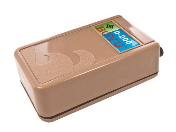 BOYU - Luftmembranpumpe für Aquarien, batteriebetrieben