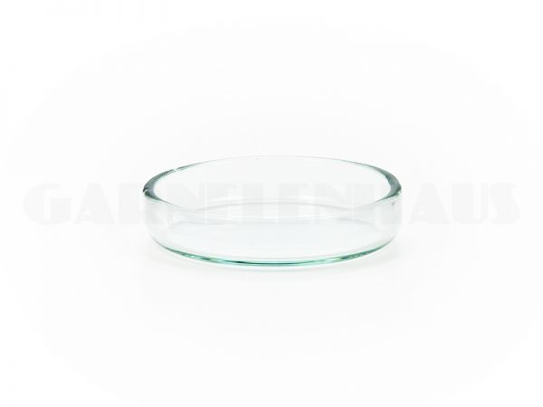 Futterschale Glas, 40/9 mm