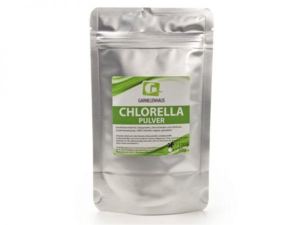 Chlorella Pulver, 100g