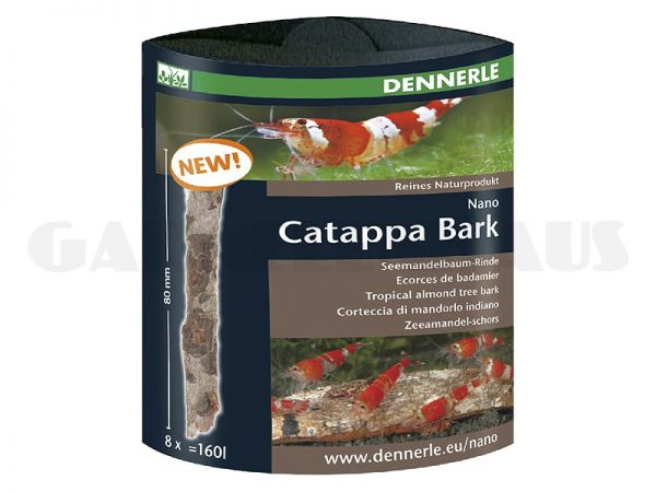 Nano Catappa Bark, 8 Stk.