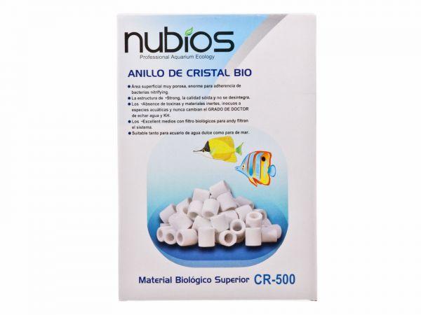 Nubius - Bio Filter Keramik Röhrchen, 500g mit 9 oder 16 mm Durchmesser