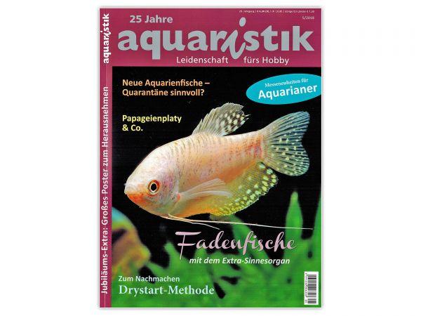 aquaristik - Leidenschaft fürs Hobby, Aquaristik-Magazin / Zeitschrift, Ausgabe 5/2018