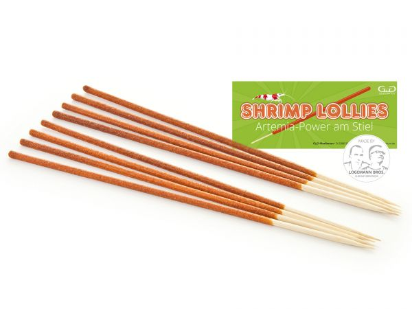 Shrimp Lollies - Artemia Power - Garnelen-Futterlolly / Futtersticks