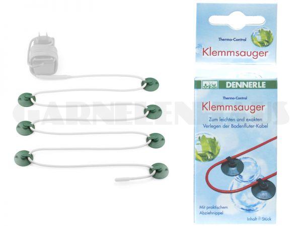 Klemmsauger für 8 - 100 Watt, 12 Stk.