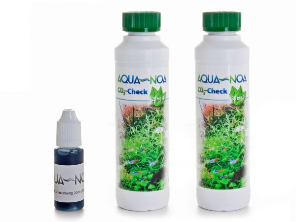 AQUA-NOA - CO2-Testlösung / Indikatorlösung, 20 und 30 mg/l CO2