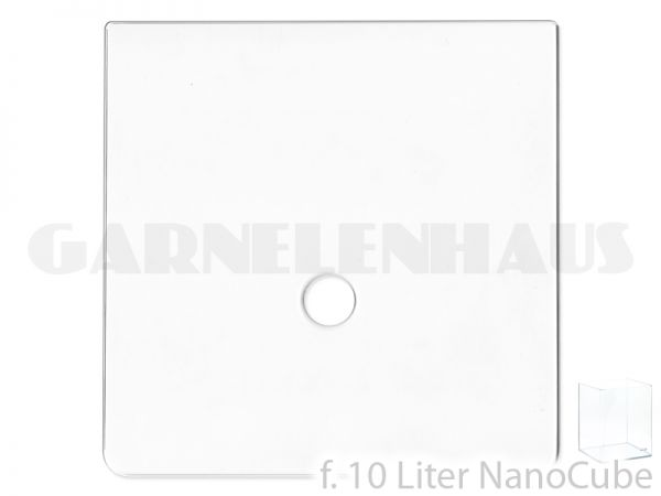 Abdeckscheibe f. Nano Cube, 10 l