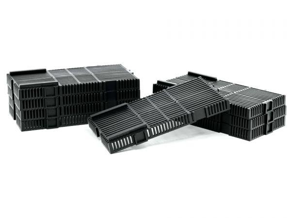 GH-GOODS - Bodenfilter Ersatzplatten, 8 Stück