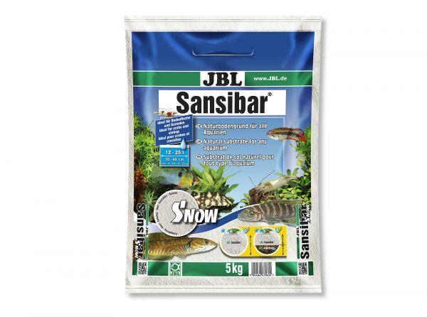 JBL - Sansibar SNOW Bodengrund für Aquarien, 5 kg