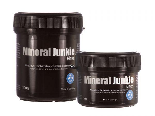 GlasGarten - Mineral Junkie Bites - Futter für Garnelen, Krebse, Schnecken im Aquarium