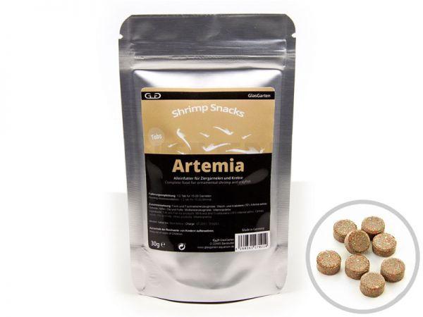 GlasGarten - Shrimp Snacks Artemia, Garnelenfutter