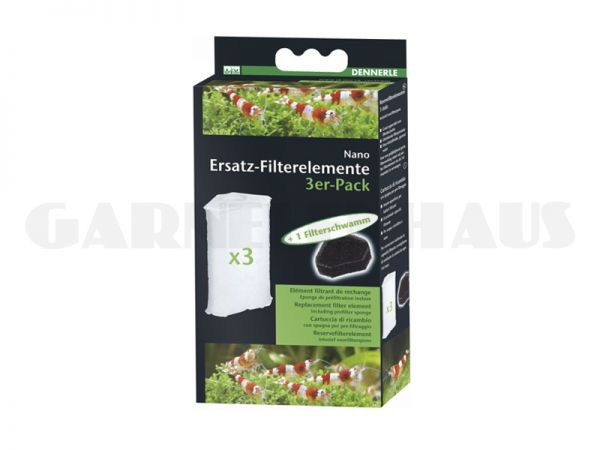 Nano Clean, Ersatz-Filterelement, 3er-Pack