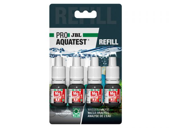 JBL - Pro Aquatest Mg (Magnesium) Reagenz, Refill-Pack (Nachfüllung)