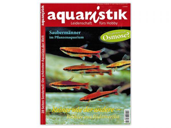 aquaristik - Leidenschaft fürs Hobby, Ausgabe 2/2019
