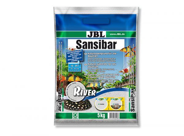 JBL - Sansibar RIVER Bodengrund für Aquarien, 5 kg
